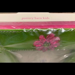 Pottery Barn Kids Other - Pottery Barn Kids lime/hot pink 5x7 picture frame